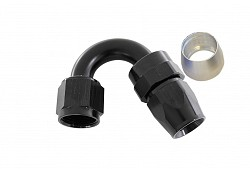 ARD ARTP6001-1506 Fitting PTFE Hose Ends AN6 150° Degree (BLACK)