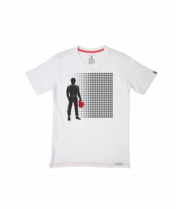 OMP RS/TS/0007/020/l Футболка Crew Neck Short Sleeves Fashion White размер L