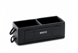 SPARCO 01662N Helmet boxes (side pockets) Black