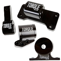 Torque Solution TS-EV-1235 Billet Aluminum 4 Piece Full Engine Mount Kit для Mitsubishi Evolution VII-I