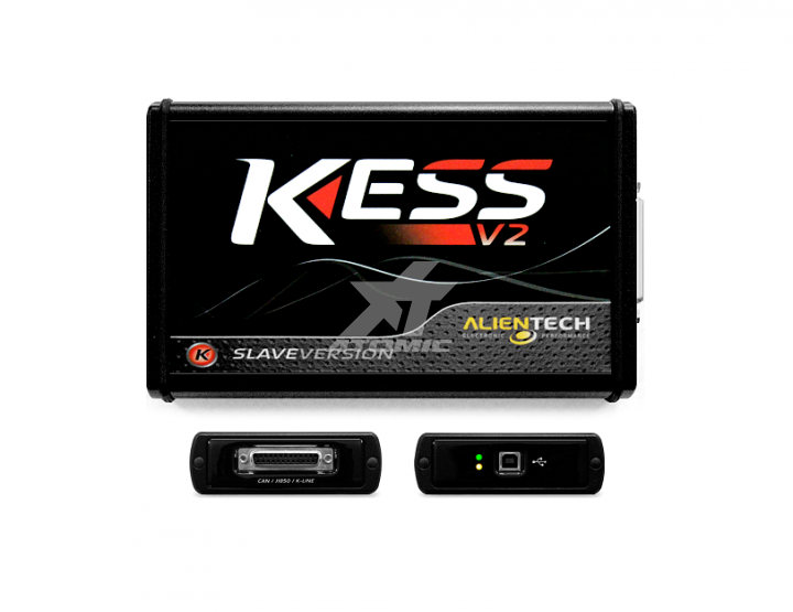 ALIENTECH 14P600KS01 KESSv2 Slave (Tool) Tool and following cables: 144300KCAN - 144300K201